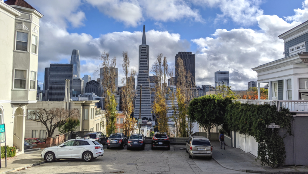 San Francisco in daytime